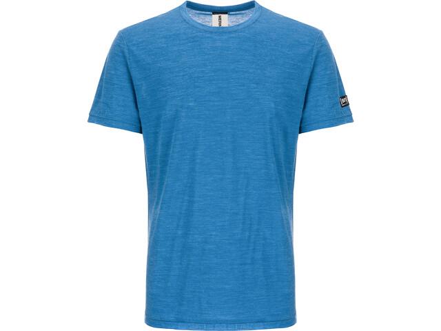 super.natural M's Everyday T-Shirt Vallarta Blue Melange